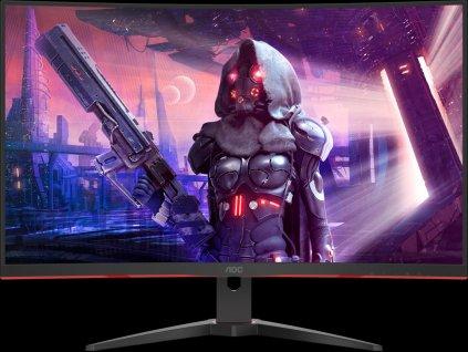 "31.5""W LED AOC CQ32G2SE/BK herný monitor"