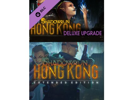 Shadowrun: Hong Kong - Extended Edition Deluxe Upgrade DLC (PC) Steam Key