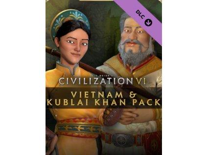 Sid Meier's Civilization VI – Vietnam & Kublai Khan Pack DLC (PC) Steam Key