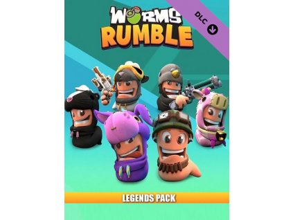 Worms Rumble - Legends Pack DLC (PC) Steam Key
