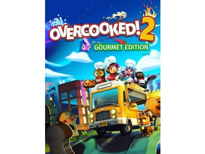 Overcooked! 2 - Gourmet Edition (PC) Steam Key