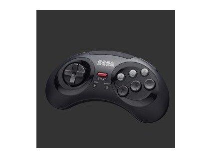 Sega - Retro-Bit SEGA Mega Drive 6-button Pad (Black, 2.4GHz)