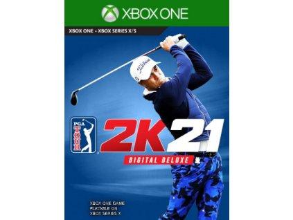 PGA TOUR 2k21 - Digital Deluxe XONE Xbox Live Key