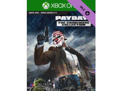 PAYDAY 2: The Crimewave Collection DLC XONE Xbox Live Key