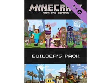 Minecraft Builder's Pack DLC XONE Xbox Live Key