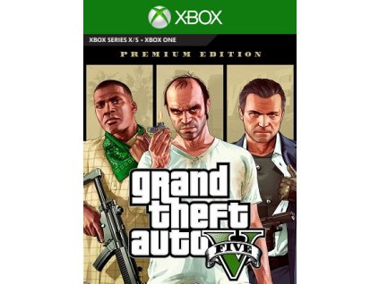 Grand Theft Auto V - Premium Edition XONE Xbox Live Key