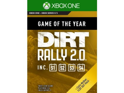 DiRT Rally 2.0 - Game of the Year Edition XONE Xbox Live Key