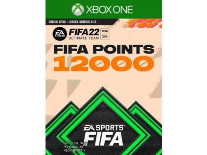 Fifa 22 Ultimate Team 12000 FUT Points XONE Xbox Live Key
