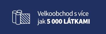 Velkoobchod s více jak 5000 látkami