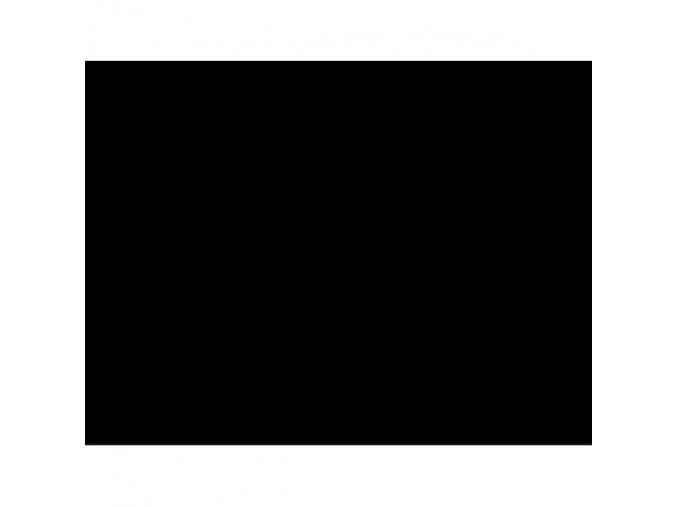 Náplet jemný - černý