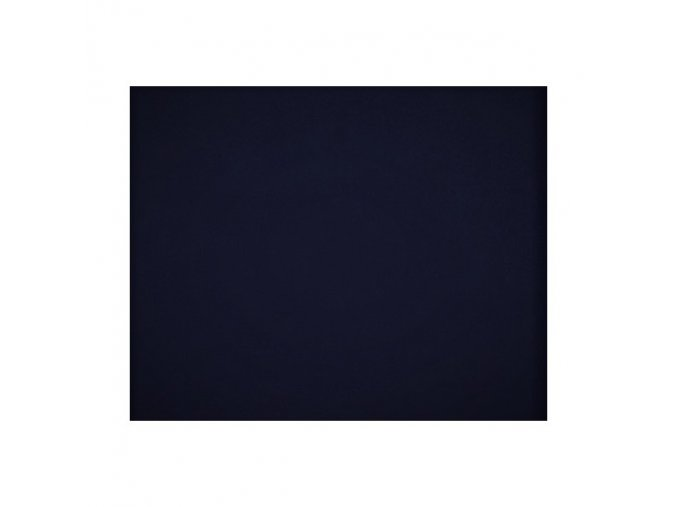 Elastická nepočesaná teplákovina 290g - TEMNĚ MODRÁ