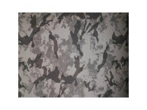 Softshell - maskáčový - do šeda (do 9 metrů)