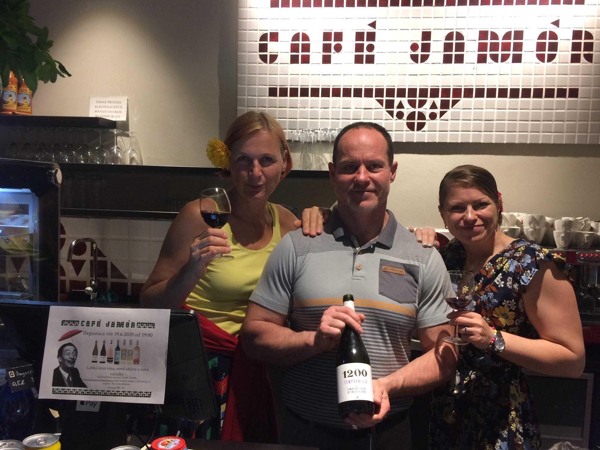 Degustace letních vín 19.6.2020 v Café Jamón