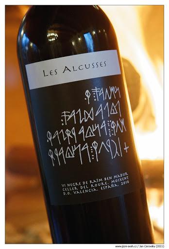Recenze vín Jižní svah Les Alcusses