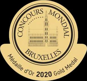 Vivir sin Dormir Médaille d'or Concours Mondial Bruxelles 2020