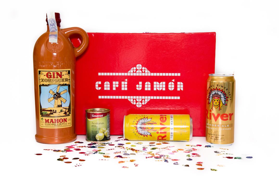 Gin Xoriguer Mahon box