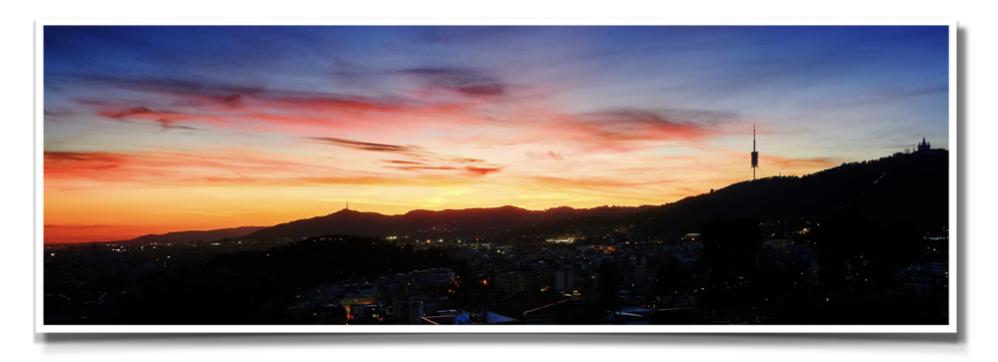 Tibidabo_Barcelona_night_horizont