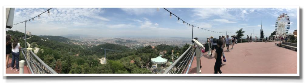 Tibidabo_Barcelona_view