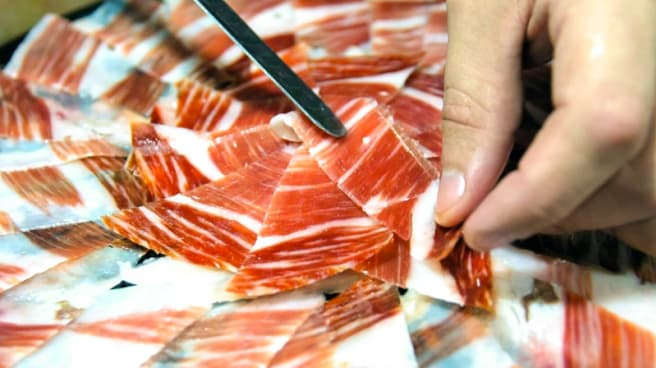 jamon pieces