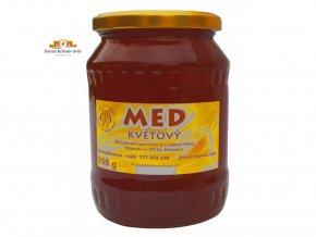 Čerstvý farmářský med  květový 1kg