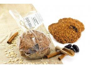 Velké ovesné sušenky - švestka skořice 70g