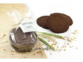 Tuze velké špaldové sušenky - karob kokos mandle 70g