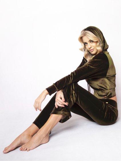 olivové nohavice chester