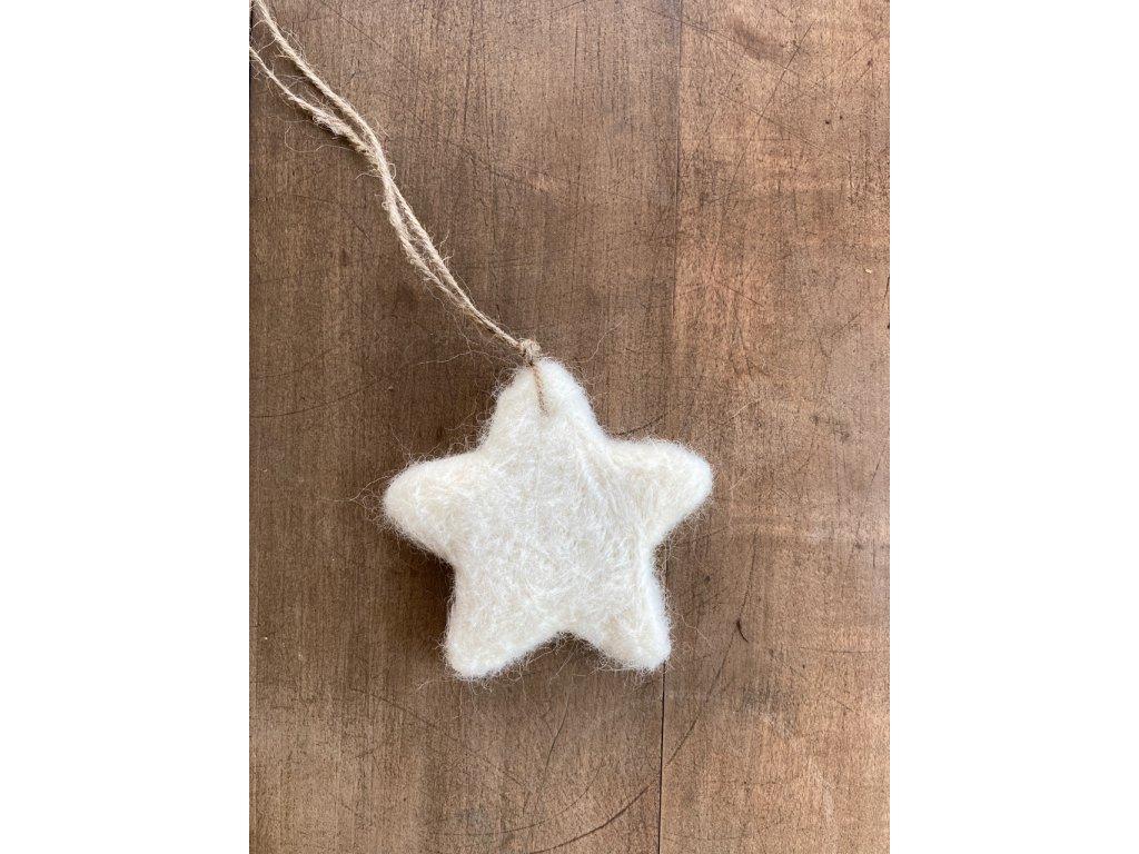 Hvězdička dekorace
