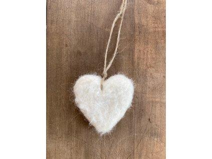 Srdíčko dekorace