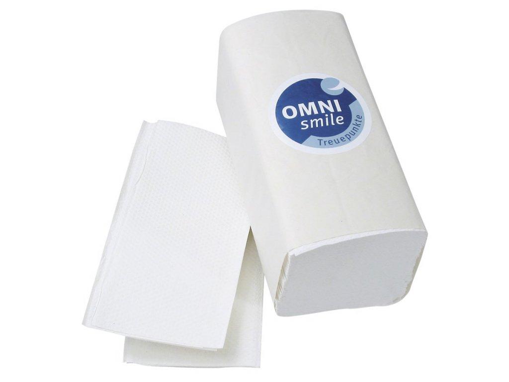 OMNI Z-Premium - papírové ubrousky bílé, 3150ks