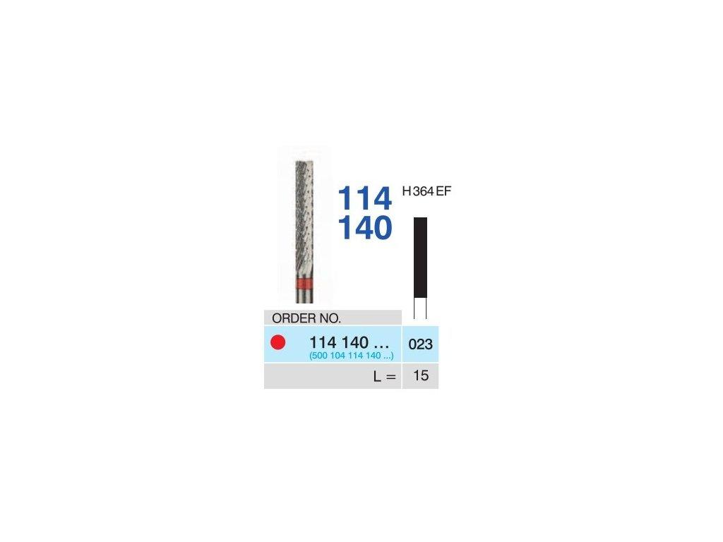 Tvrdokovová fréza - cylindr, 114140, průměr 2,3mm