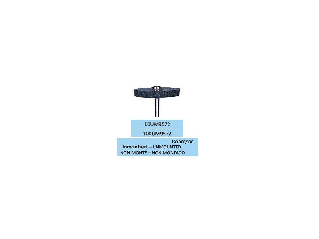 Leštící guma UNISOFT SCHWARZ UM9572 100ks