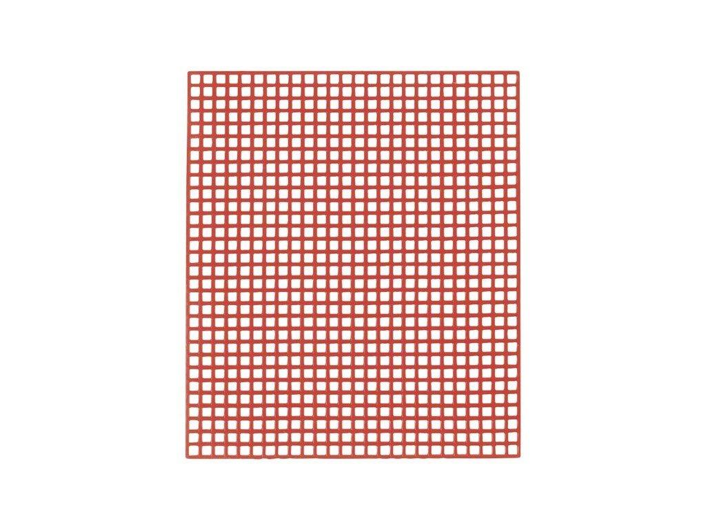 YETI Retenční mřížka, červená 7,5x6,5 cm, 20 tabulek