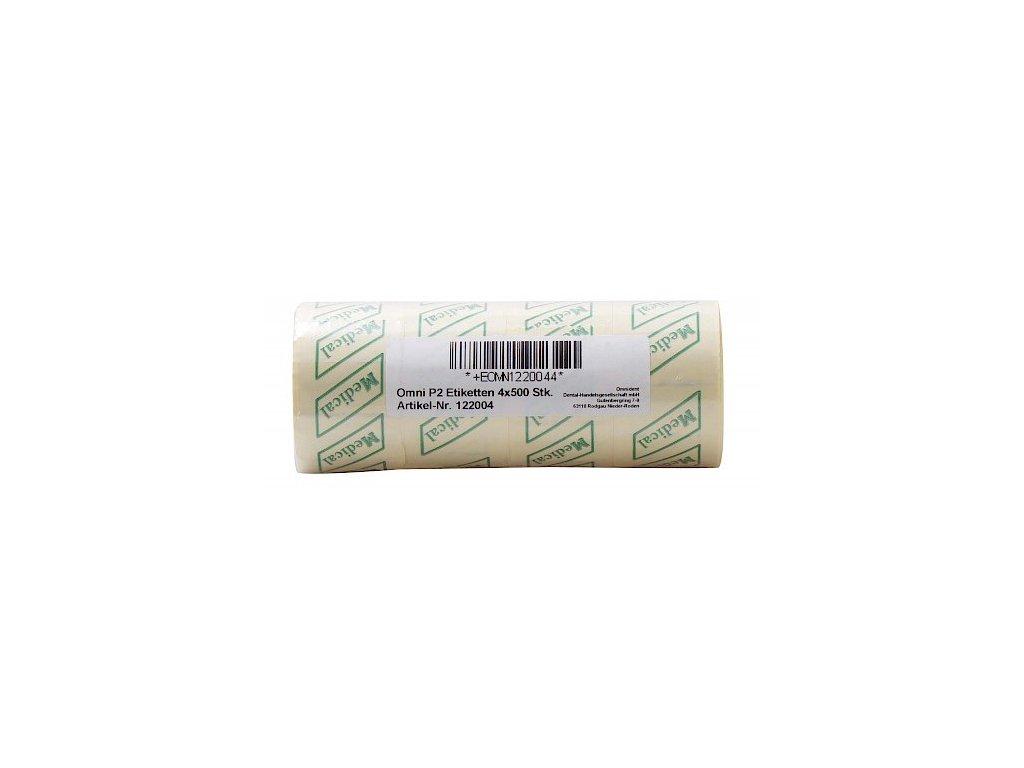 OMNI P2 etikety, 4x500ks