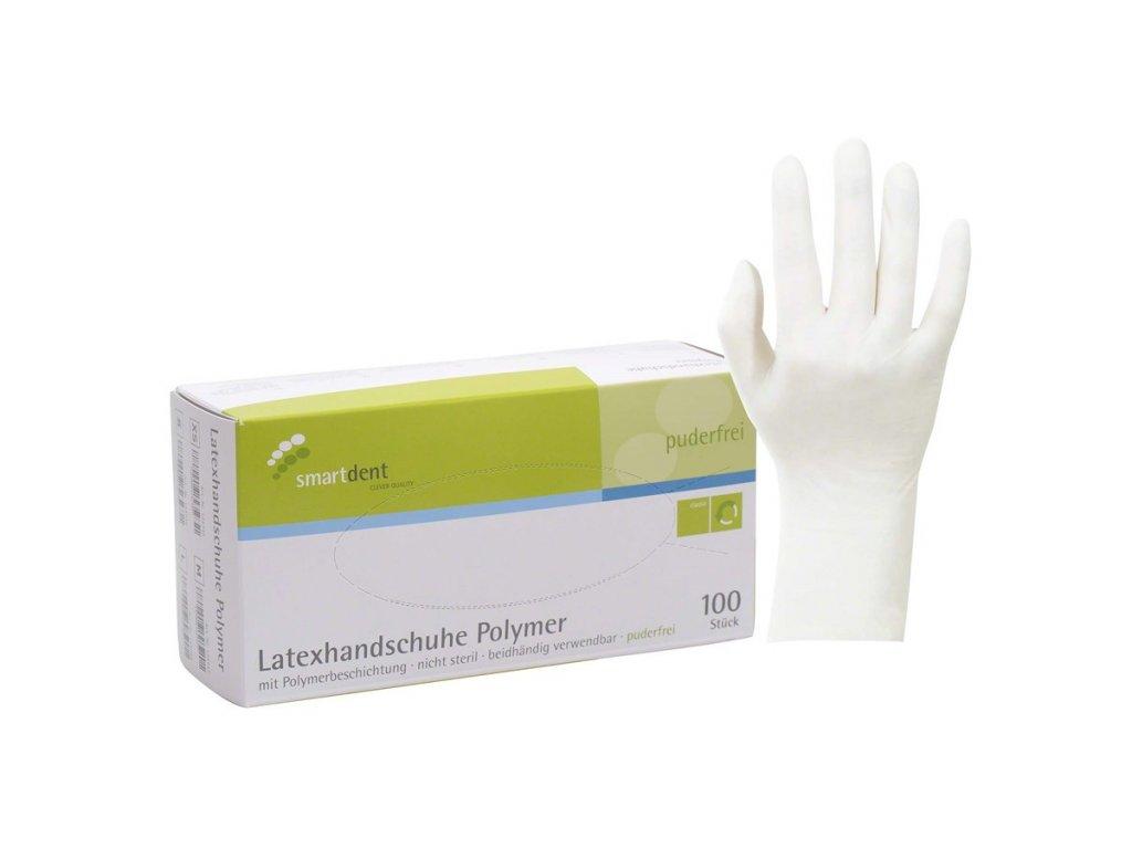 Smart polymerové latexové vyšetřovací rukavice, vel.S - DOPRODEJ