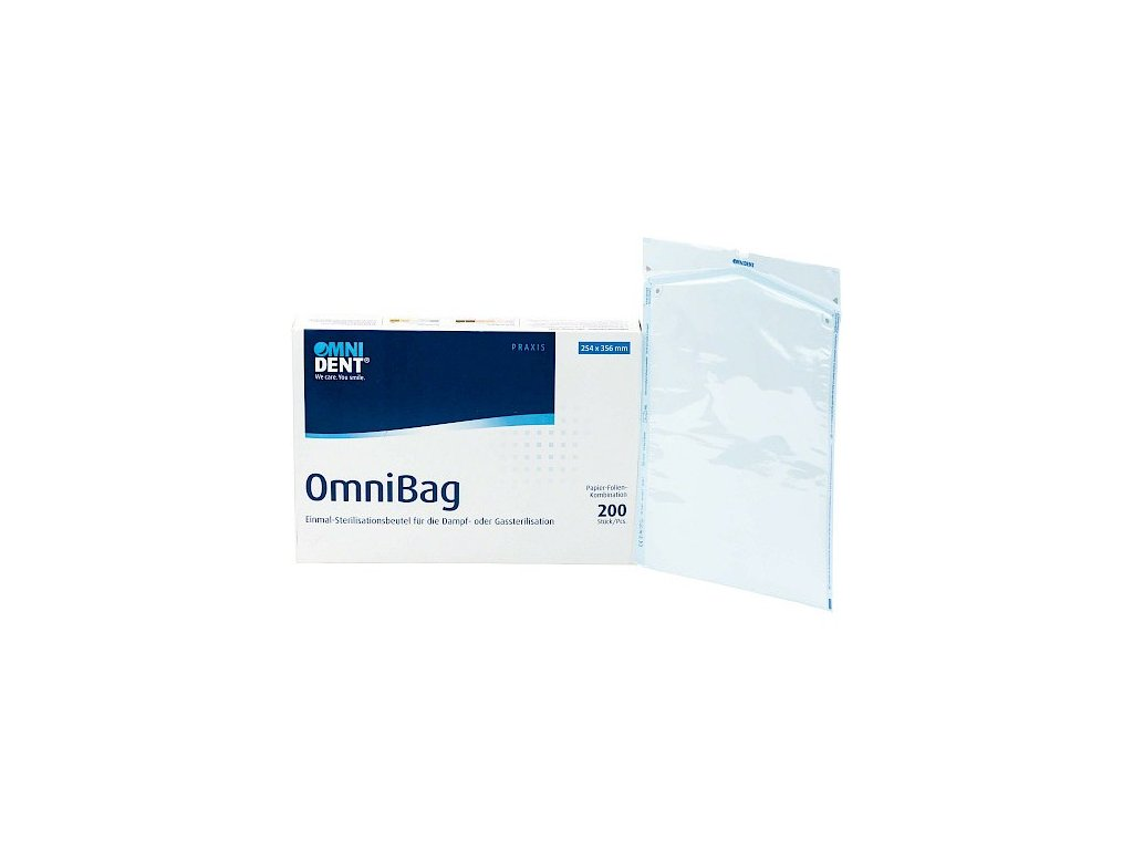 Omnibag - sterilizační sáčky, 254x356mm