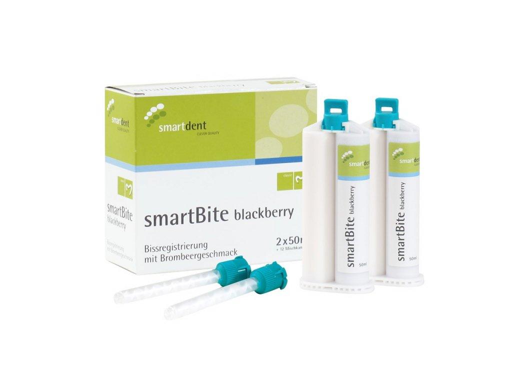 SmartBite - registrát skusu, 2x50ml ostružinová příchuť