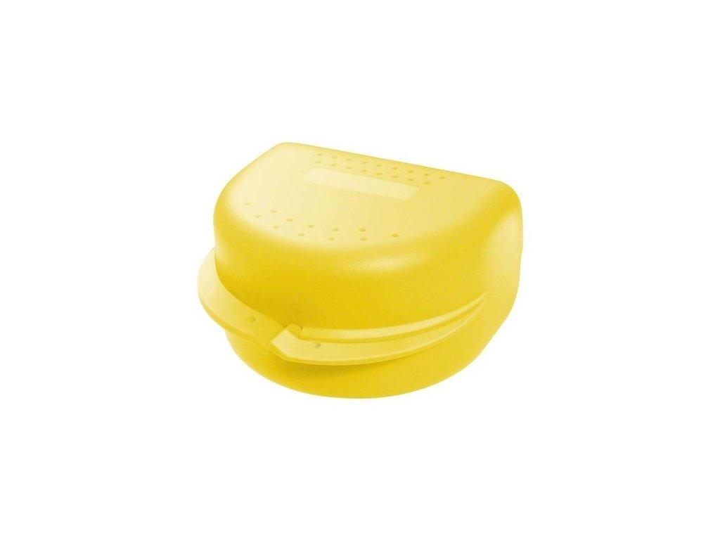 OMNI Box na rovnátka, žlutý