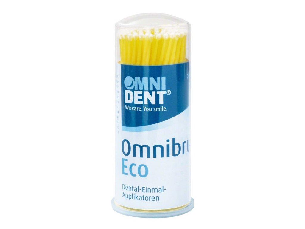 Omnibrush ECO - mikroaplikátory, žluté
