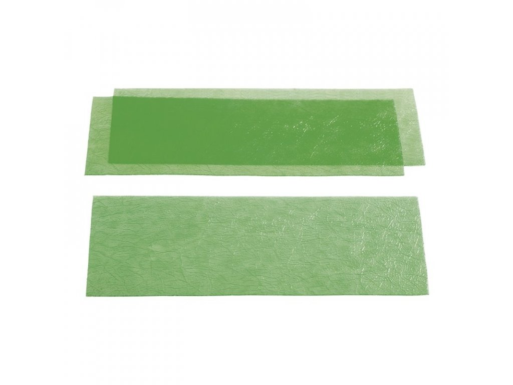 YETI Voskové listy zelené, hladké, 0,35mm