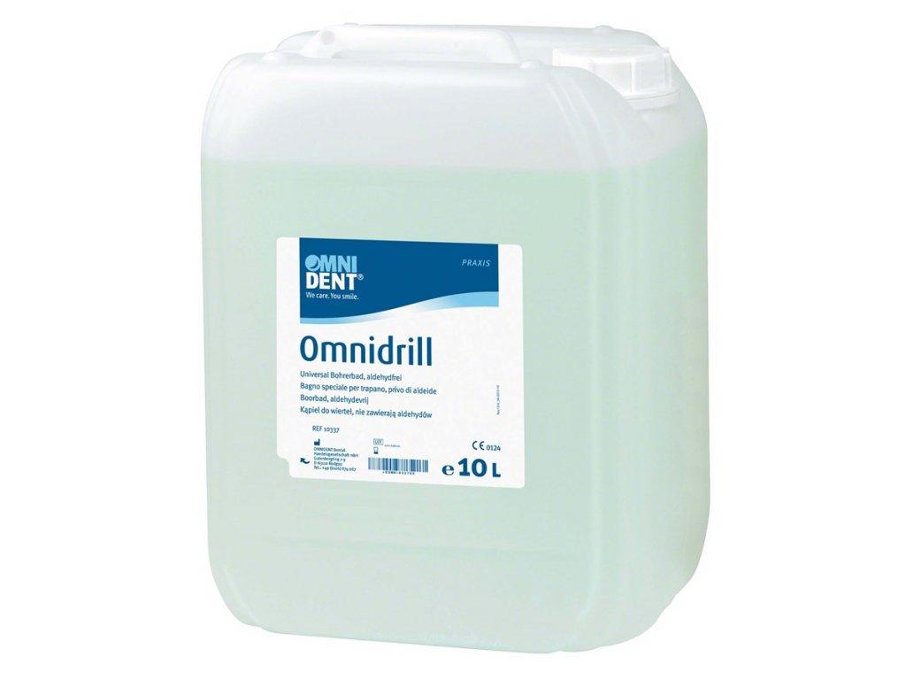 Omnidrill - dezinfekce pro rotační instrumentárium, 10l