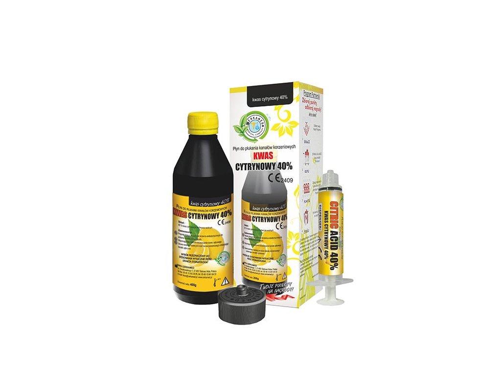 Citric Acid 40% kyselina citronová, 200g