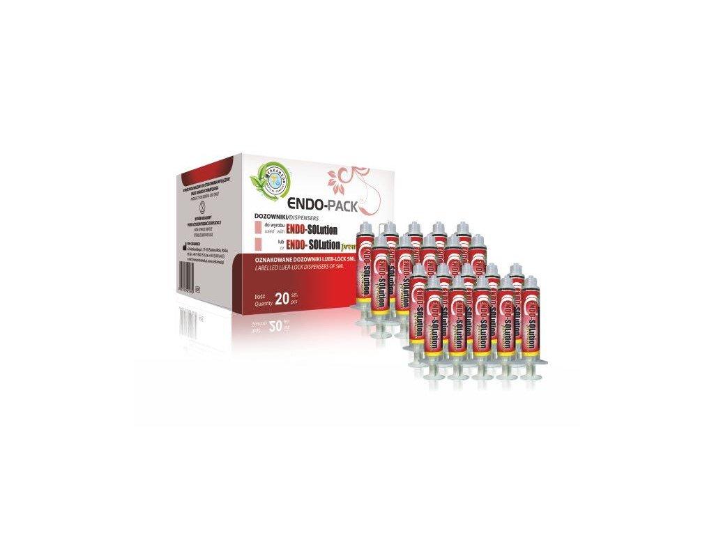 Endo Pack - výplachové stříkačky pro Endo Solution nebo Endo-Solution Premium