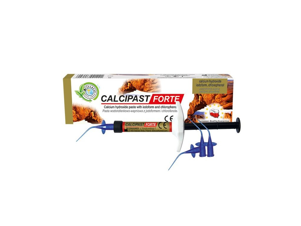 Calcipast Forte - hydroxid vápenatý v pastě
