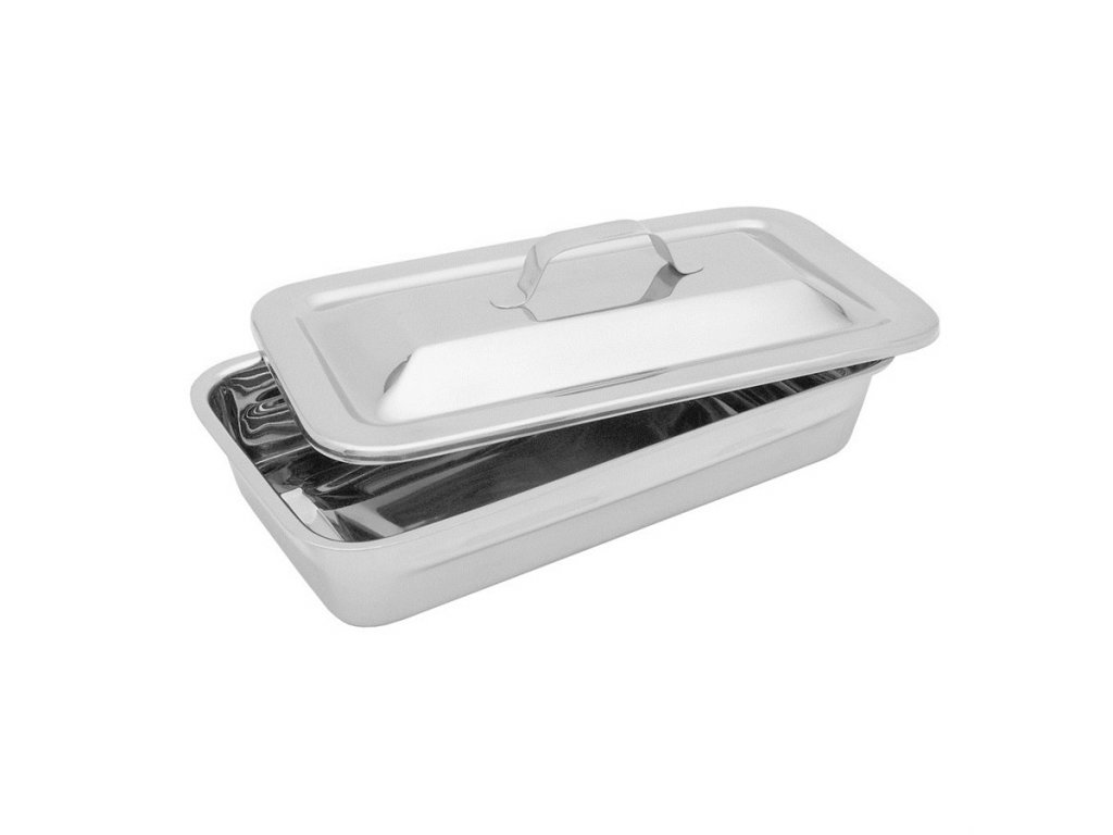 Krabička s vypouklým víčkem; 210×115×45 mm