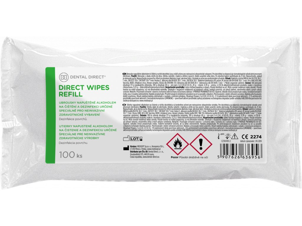 Dental Direct Wipes Refill