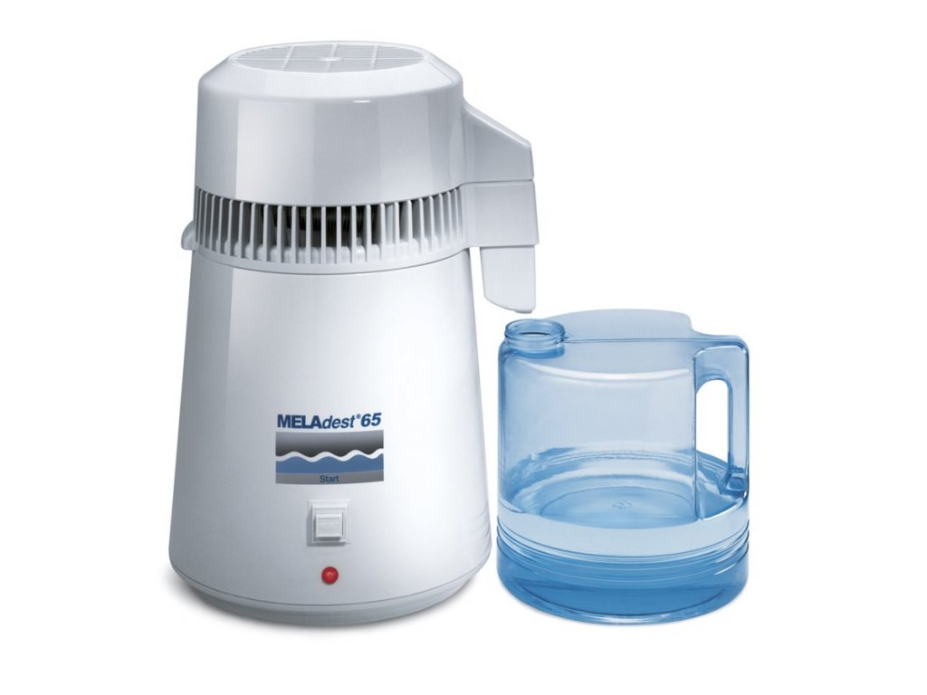 MELAdest 65, výrobník destilované vody