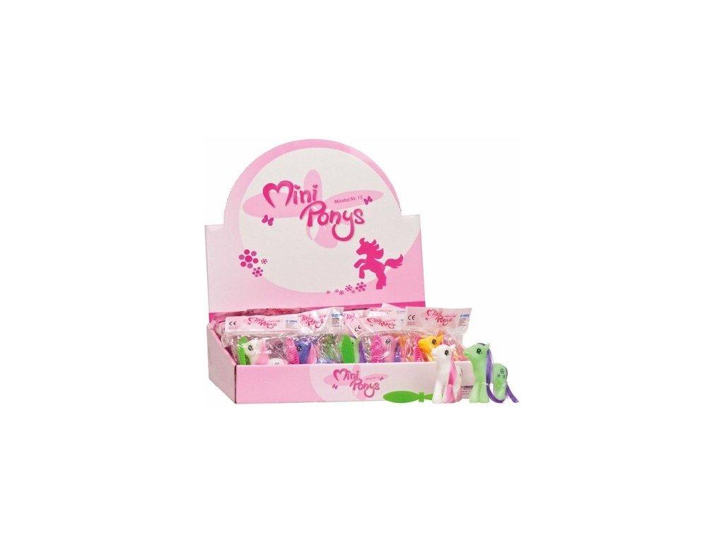 Miratoi hračky mini poníci, 50ks