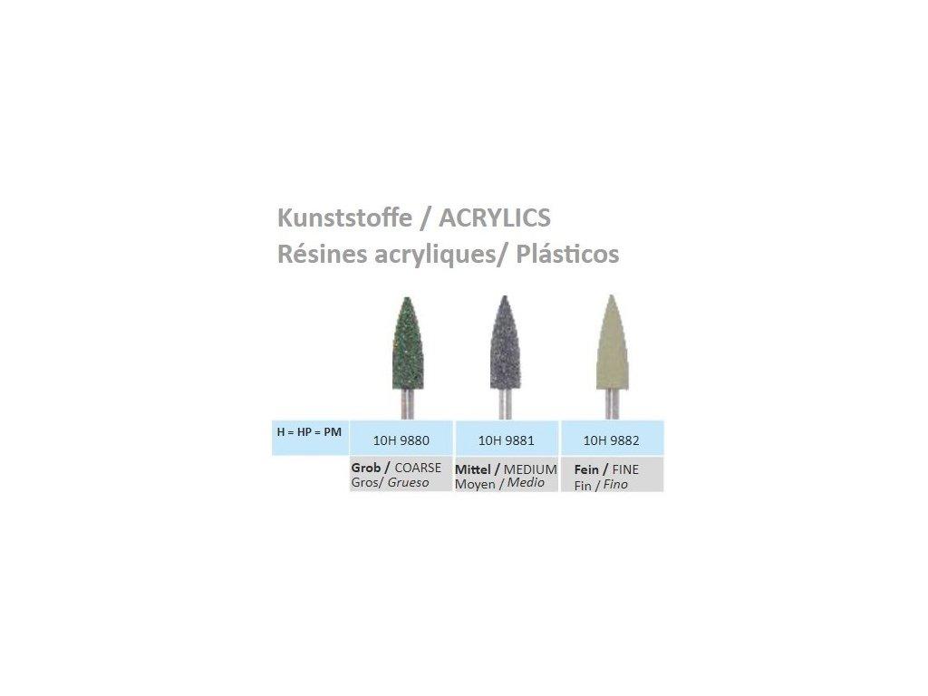 Leštící guma Lamello Kunststoffe H9880 10ks