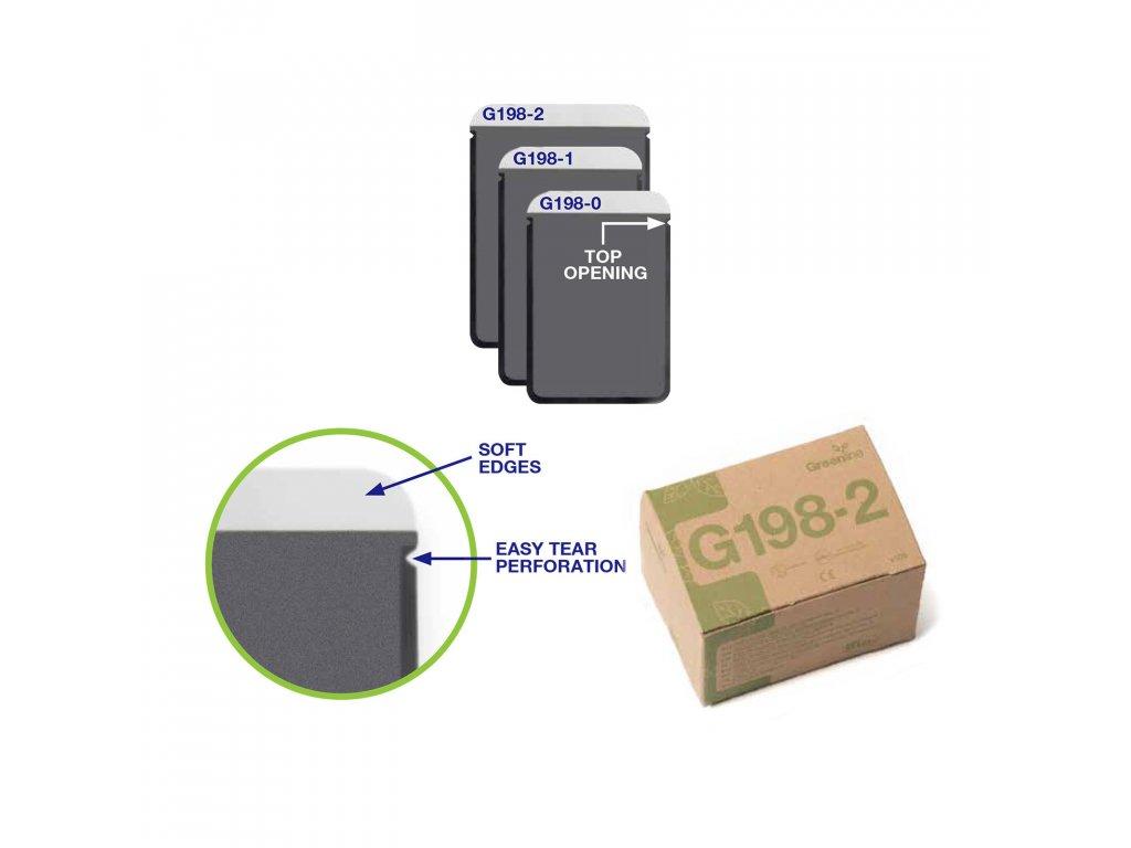 Greenline ochranné návleky na RTG s horním otevíráním, vel. 1, 100ks